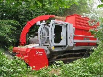 Измельчитель биомассы Biomasse Harvester AHWI H600