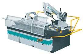 Автоматический ленточнопильный станок мод. 290x290 A-CNC-1500-F с системой управления ЧПУ