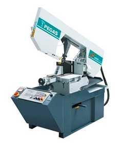 Гидравлический полуавтоматический ленточнопильный станок 240×280 SHI-R / SHI-R-F