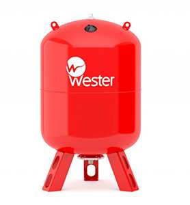 Мембранный бак WESTER WRV 200 (top)