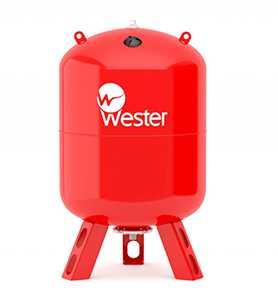 Мембранный бак WESTER WRV 300 (top)