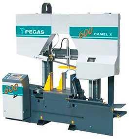 Ленточнопильный полуавтомат мод. 600 CAMEL X и автомат мод. 600 CAMEL X-CNC-1000