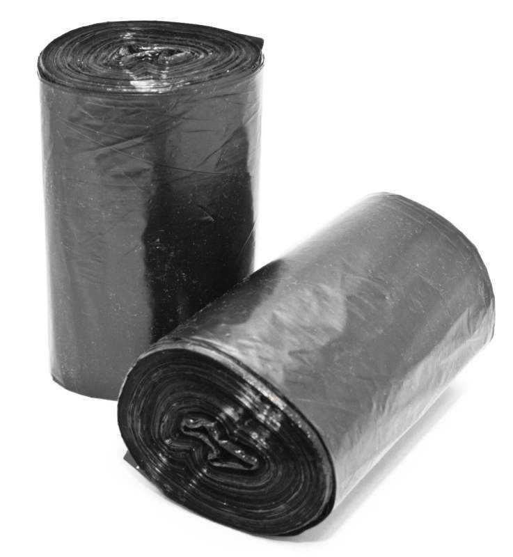 Пакеты для мусора в рулонах 35л/30шт