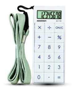 Калькулятор 8 разрядный ASSISTANT АС-1194 магнит