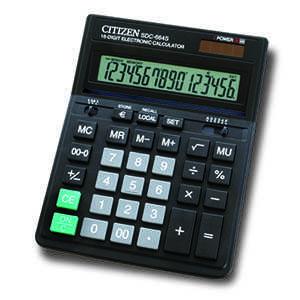 Калькулятор 16-ти разрядный CITIZEN SDC-664S