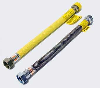 Гибкий гофрированный шланг для газа и воды из нержавеющей стали 15A(1/2′)