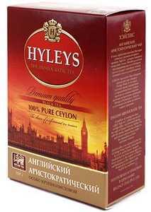 Чай Hyleys 100 г «Английский Аристократический» черный крупнолистовой чай