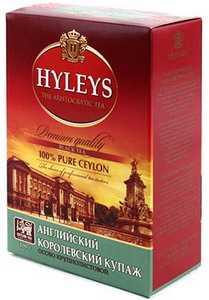 Чай Hyleys 100 г «Английский королевский купаж» крупнолистовой черный чай