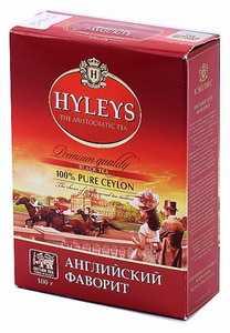 Чай Hyleys 100 г «Английский фаворит» черный чай