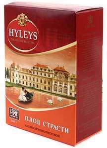 Чай Hyleys 100 г «Плод страсти» крупнолистовой черный чай