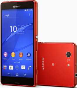 Смартфон Sony Xperia Z3 Compact оранжевый
