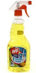 Средство для мытья стекол Help Лимон 500 мл