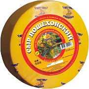 Сыр сычужный твердый Пошехонский