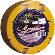 Сыр сычужный твердый Монарший 28%