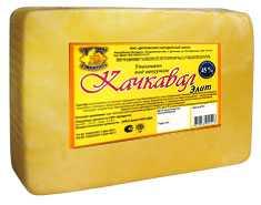 Сыр сычужный твердый Качкавал элит