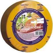 Сыр сычужный твердый Российский юниор