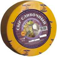 Сыр сычужный твердый Сливочный 50%