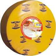 Сыр сычужный твердый Сметанковый