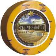 Сыр сычужный твердый Чиз-Лайт 25%