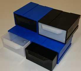 Пластиковый контейнер 64х125х147
