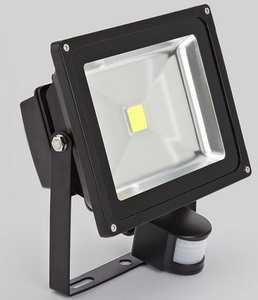 Светодиодный прожектор с датчиком движения PFL/SENSOR ТМ Jazzway