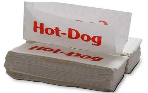 Бумажные конверты для хот-догов