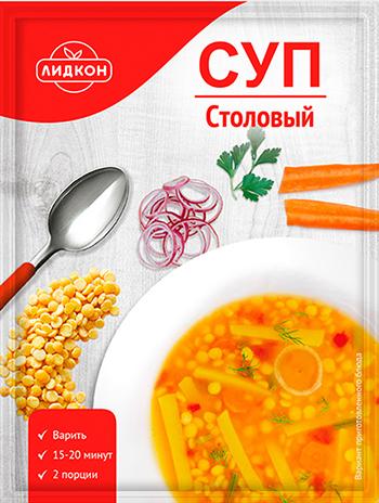 Суп столовый Лидкон 70 г