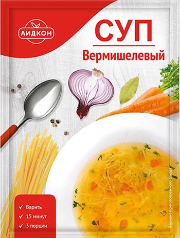 Суп вермишелевый Лидкон 70 г