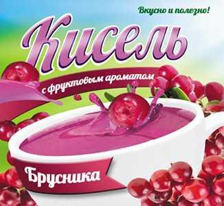 Кисель с фруктовым ароматом Брусника 220 г