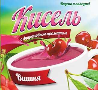 Кисель с фруктовым ароматом Вишня 220 г