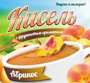 Кисель с фруктовым ароматом Абрикос 220 г