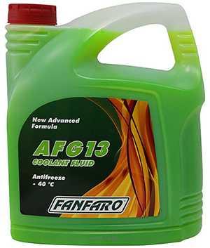 Антифриз Fanfaro AFG 13 зеленый 5л