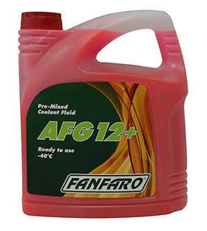 Антифриз Fanfaro AFG 12+ красный 5л