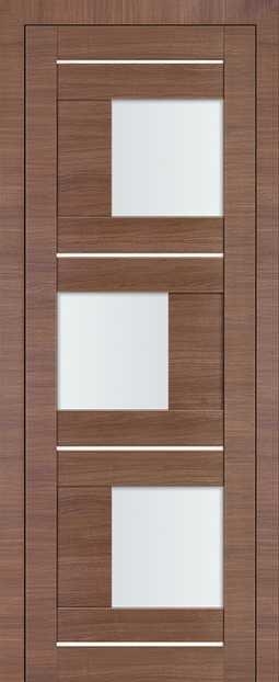 Межкомнатная дверь Profil Doors 13X Малага Черри кроскут
