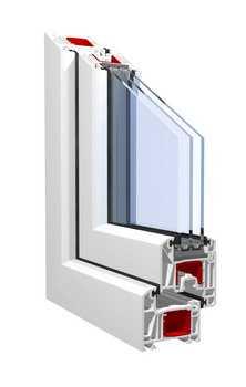 Окна ПВХ профильная система KBE Expert 70 мм