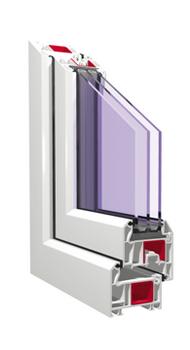 Окна ПВХ профильная система KBE Master 70 мм