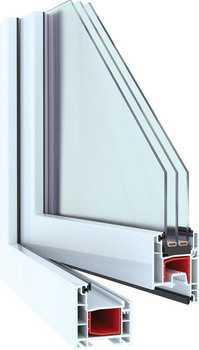Окна ПВХ профильная система NOVOTEX LIGHT 58 мм