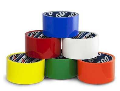 Скотч цветной «Unibob» 48мм*66м*45мкм