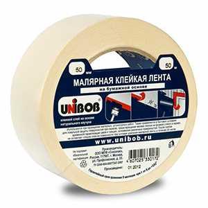Малярная лента Unibob 25мм*40м/50м