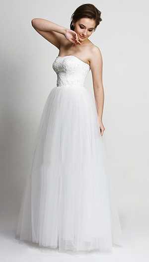 Платье свадебное Andrea Style артикул 7046а