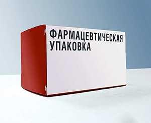 Фармацевтическая упаковка из картона