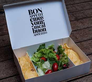 Упаковка для еды на вынос Take Away