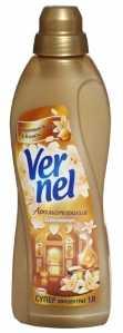 Кондиционер для белья концентрированный Vernel 1000 мл Цитрусовые масла и ваниль