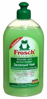 Средство для мытья посуды Frosch Зеленый чай 500 мл