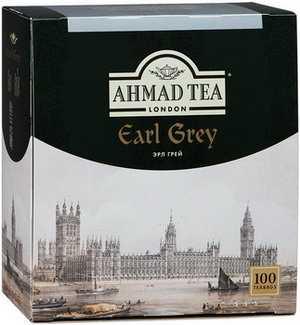 Чай Ahmad Tea черный Эрл Грей 100*2г