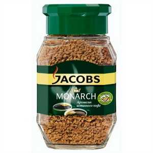 Кофе JACOBS Monarch Якобс Монарх 95г