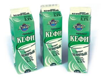Продукт кефирный 3,2% 1 л - СПК Агрокомбинат Снов