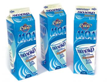 Молоко 'Вкусное' питьевое пастеризованное 3,2% 1 л - СПК Агрокомбинат Снов
