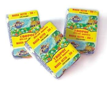 Творожная масса обезжиренная, сладкая с ванилином 250 гр - СПК Агрокомбинат Снов