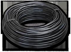 Трубка однослойная 4х1,5мм общего назначения черная